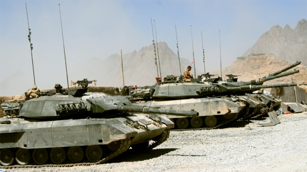 Canada to Ship 20 Tanks