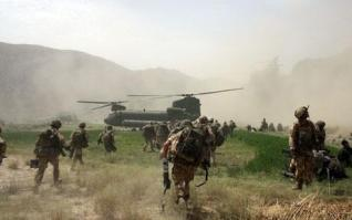 On the frontline with British troops in Afghanistan