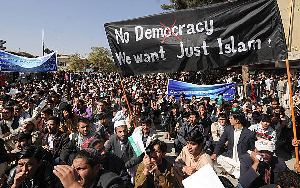 Afghans Hold Anti-US Demonstration
