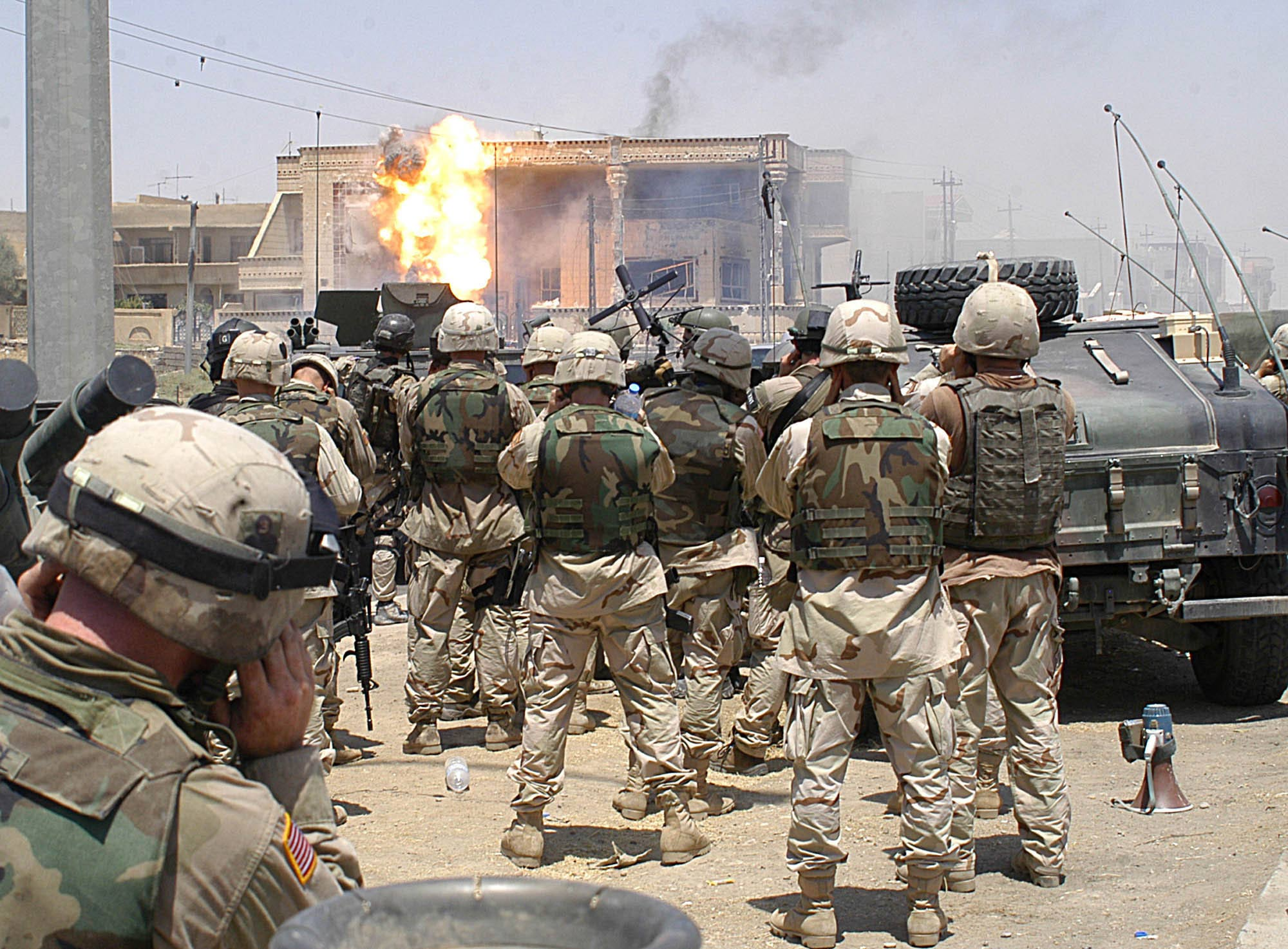 British and US Special Forces in Basra Raids