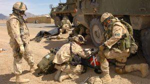 Soldiers injured in Afghanistan