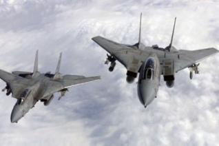 US warplanes bomb central Iraq